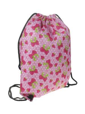 Рюкзак женский Migura. Цвет: розовый, белый, зеленый