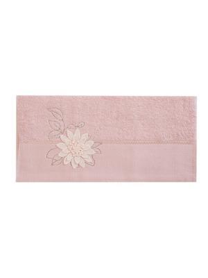 Полотенце Цветок 50х90 см. La Pastel. Цвет: розовый