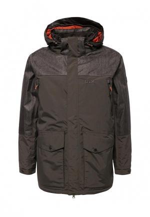 Куртка утепленная Trespass. Цвет: хаки