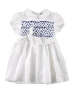 Платье ARC-EN-CIEL. Цвет: белый