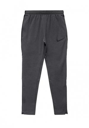 Брюки утепленные Nike. Цвет: серый