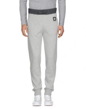 Повседневные брюки CONVERSE. Цвет: серый