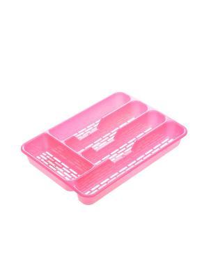 Сушилка для столовых приборов Migura. Цвет: розовый