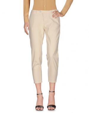 Повседневные брюки OAKS. Цвет: слоновая кость