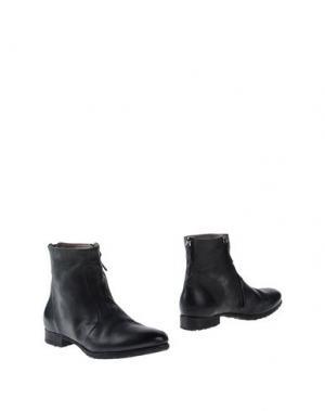 Полусапоги и высокие ботинки LABORATORIGARBO. Цвет: стальной серый