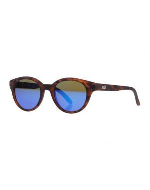 Солнечные очки SPEKTRE. Цвет: темно-коричневый