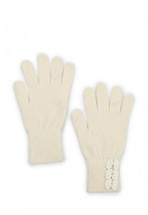 Перчатки Modis. Цвет: бежевый