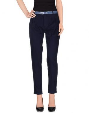 Повседневные брюки SO NICE. Цвет: темно-синий