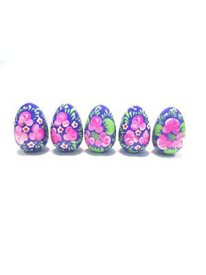Пасхальные яйца - с цветами Taowa. Цвет: синий, розовый