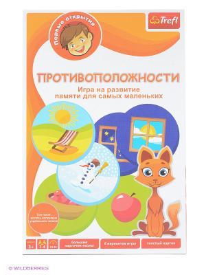 Настольная игра Противоположности Trefl. Цвет: оранжевый