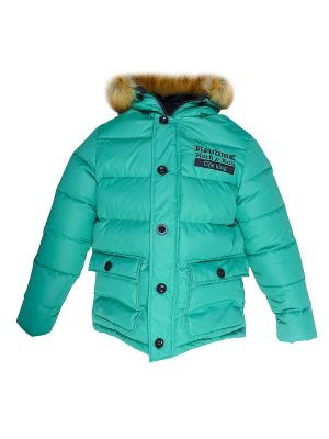 Куртка Bell bimbo. Цвет: зеленый