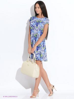 Платье Colambetta. Цвет: синий, голубой