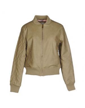 Куртка DUCK FARM. Цвет: песочный