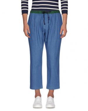 Джинсовые брюки GENERAL IDEA. Цвет: синий