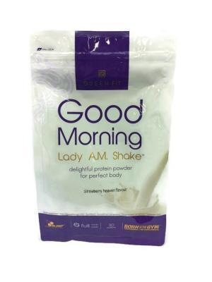 Протеин OLIMP Good Morning Lady a.m. protein shake (клубника) 720 г Nutrition. Цвет: белый,темно-фиолетовый
