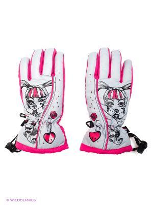 Перчатки Чудо-Кроха. Цвет: малиновый