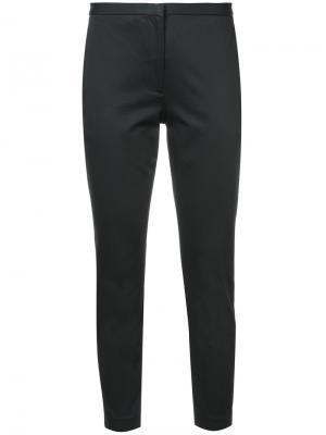 Укороченные облегающие брюки Rosetta Getty. Цвет: чёрный