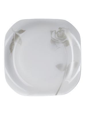 Тарелка подстановочная Рейчел27см Elff Ceramics. Цвет: белый