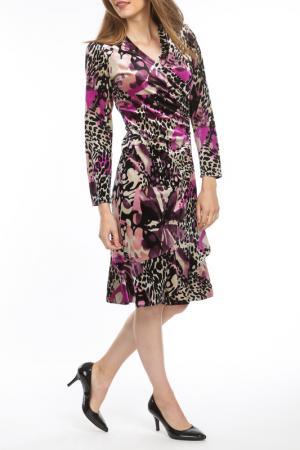 Платье Georgede. Цвет: мультицвет