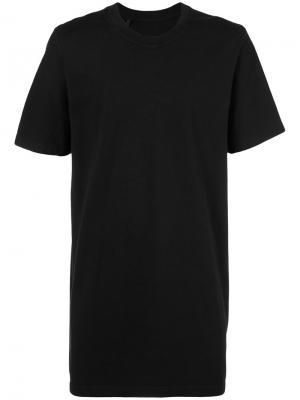 Базовая футболка 11 By Boris Bidjan Saberi. Цвет: чёрный