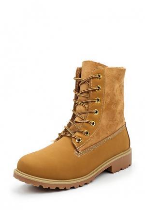 Ботинки Kayla. Цвет: коричневый