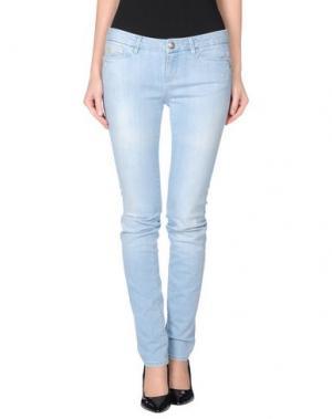 Джинсовые брюки D-21. Цвет: синий