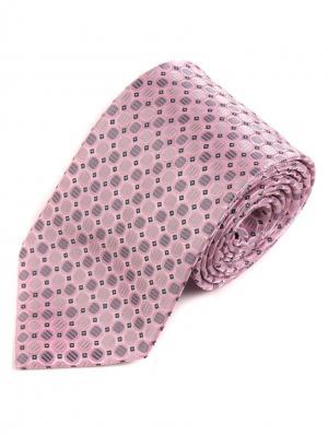 Галстук Pierre Lauren. Цвет: розовый, черный