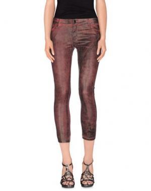 Джинсовые брюки 75 FAUBOURG. Цвет: пурпурный