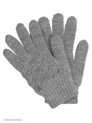 Перчатки Чудо-Кроха. Цвет: серый, синий
