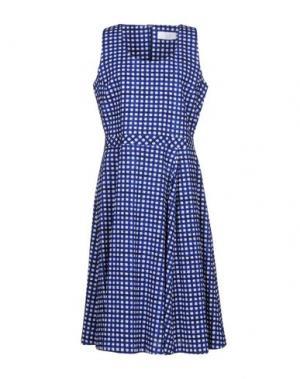 Платье до колена PRINCESSE METROPOLITAINE. Цвет: синий