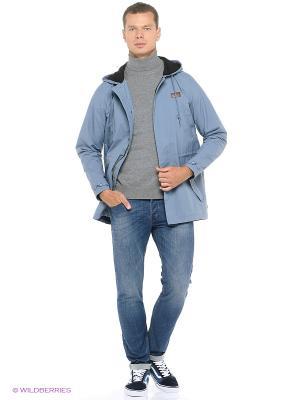 Куртка VANS. Цвет: серо-голубой