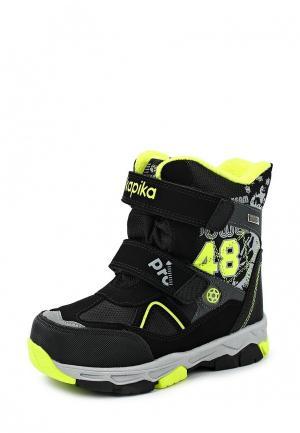 Ботинки Kapika. Цвет: черный