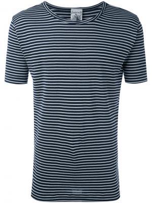 Полосатая футболка Lemma S.N.S. Herning. Цвет: синий