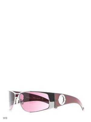 Солнцезащитные очки LC 507 04 Les Copains. Цвет: серебристый, бордовый