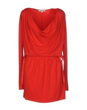 Короткое платье CRISTINAEFFE. Цвет: красный