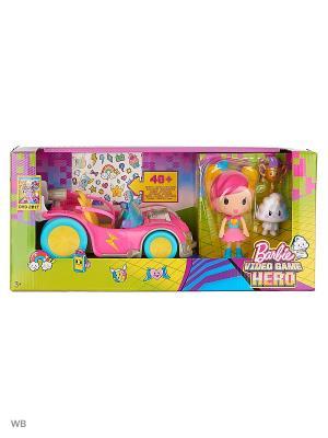 Автомобиль из серии Barbie и виртуальный мир. Цвет: розовый