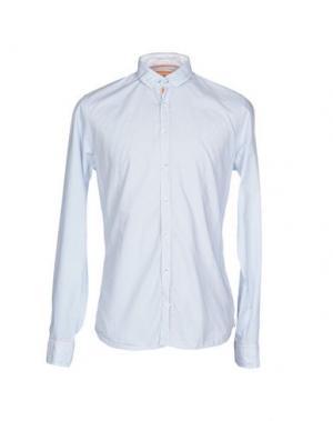 Pубашка Q1. Цвет: пастельно-синий