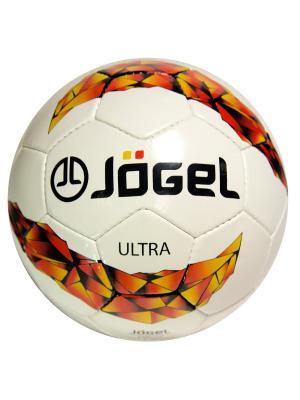 Мяч футбольный Jogel JS-400 Ultra №5. Цвет: красный, оранжевый, черный
