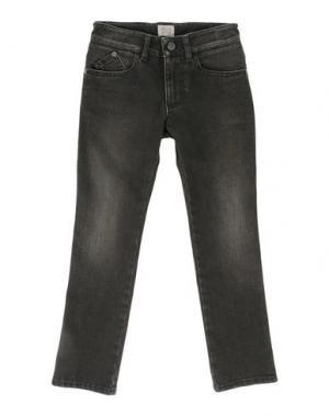 Джинсовые брюки ARMANI JUNIOR. Цвет: зеленый-милитари