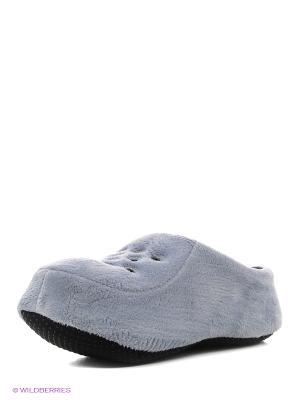 Носки-тапочки HOBBY LINE. Цвет: светло-серый