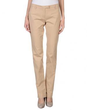 Повседневные брюки CRISTINAEFFE COLLECTION. Цвет: песочный