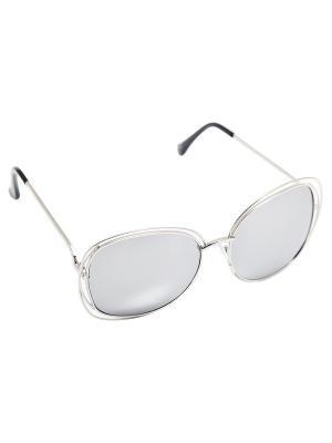 Солнцезащитные очки Kameo-bis. Цвет: серебристый