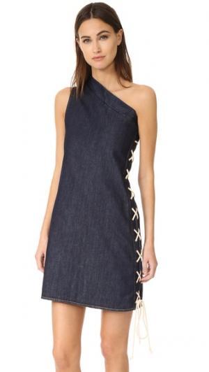 Платье Desert Dance Vale. Цвет: голубой