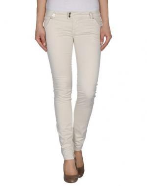 Повседневные брюки SISTE' S. Цвет: слоновая кость