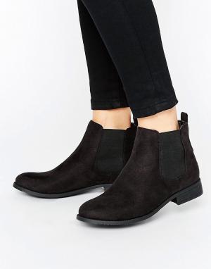 Park Lane Ботинки челси на плоской подошве. Цвет: черный