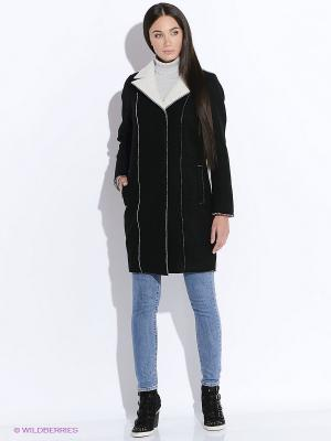 Пальто DOCTOR E. Цвет: черный, белый