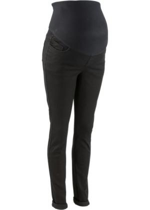 Мода для беременных: джинсы Skinny (черный) bonprix. Цвет: черный