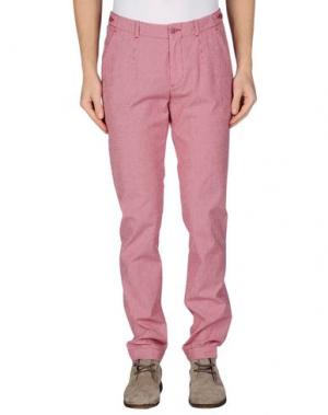 Повседневные брюки MANUEL RITZ WHITE. Цвет: красный