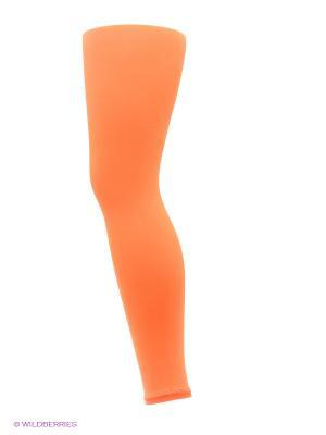 Леггинсы Trasparenze. Цвет: оранжевый