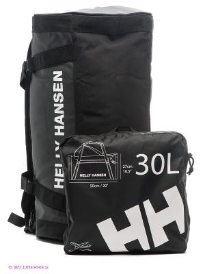 Сумка HH DUEL BAG 2 30L Helly Hansen. Цвет: черный